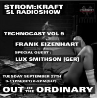 Tuesday September 27th 9.00pm CET [0.00pm SLT] – Second Life's OUT OF THE ORDINARY RADIO #08 – Frank Eizenhart (USA)