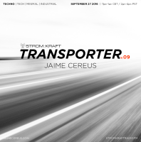 Tuesday September 27th 11.00pm CET [2.00pm SLT] – Second Life's TRANSPORTER RADIO #09 – Jaime Cereus (USA)
