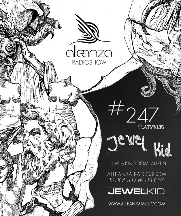Tuesday October 4th 07.00pm CET- ALLEANZA RADIO SHOW #247 by Jewel Kid