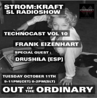 Tuesday October 11th 9.00pm CET [0.00pm SLT] – Second Life's OUT OF THE ORDINARY RADIO #10 – Frank Eizenhart (USA)