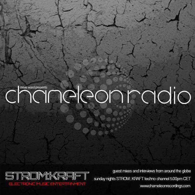 Sunday October 16th 05.00pm CET – Chameleon Radio Show by Steve Ward