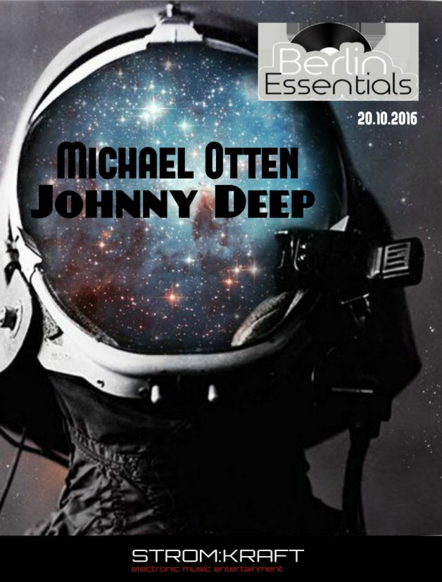 Thursday October 20th 08.00pm CET- Berlin Essentials Radio by Michael Otten ( Stencil Rec.)