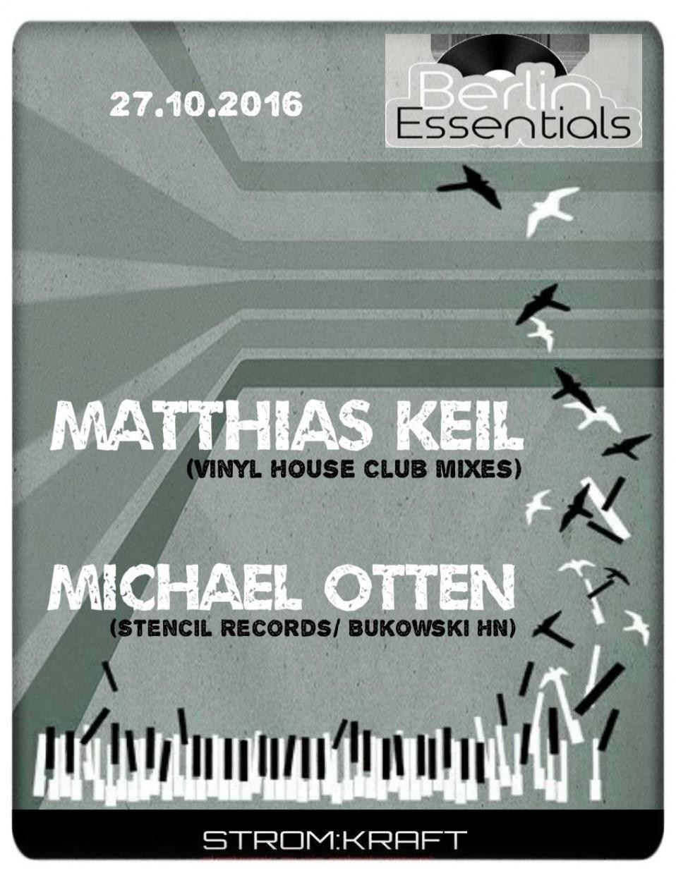 Thursday October 27th 08.00pm CET- Berlin Essentials Radio by Michael Otten ( Stencil Rec.)