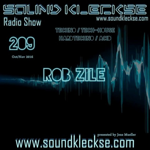 Saturday November 5th 6.00pm CET – Sound Kleckse radio #209  by Jens Mueller