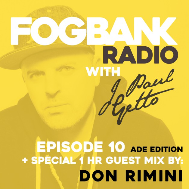 Tuesday November 8th 06.00pm CET – Fogbank Radio #010 by J paul Getto