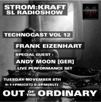 Tuesday November 8th 9.00pm CET [0.00pm SLT] – Second Life's OUT OF THE ORDINARY RADIO #12 – Frank Eizenhart (USA)