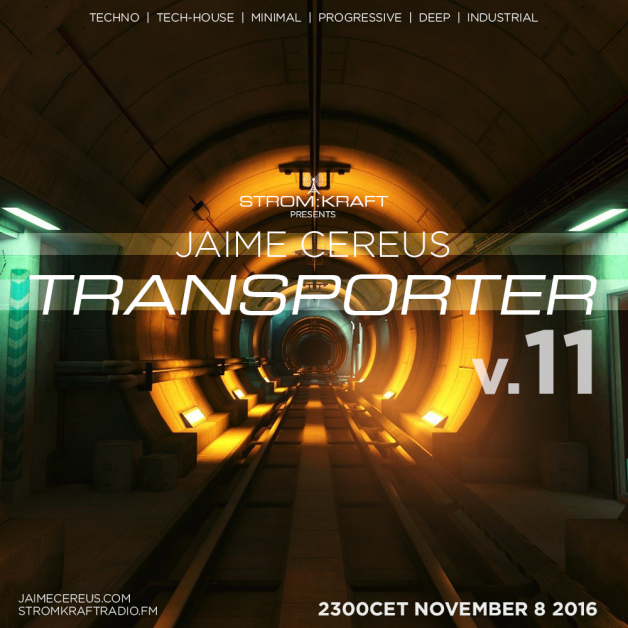 Tuesday November 8th 11.00pm CET [2.00pm SLT] – Second Life's TRANSPORTER RADIO #11 – Jaime Cereus (USA)