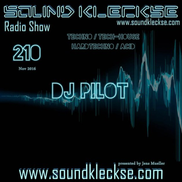 Saturday November 12th 6.00pm CET – Sound Kleckse radio #210  by Jens Mueller