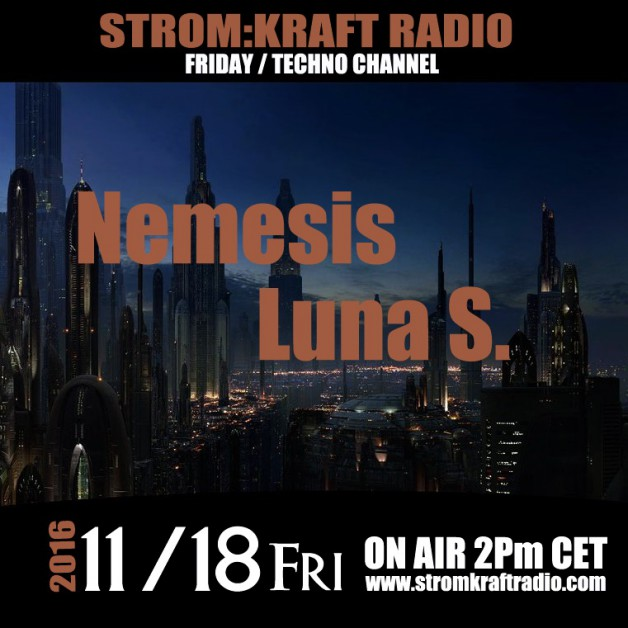 Friday November 18th 02.00pm CET – Fearless Radio #30 by Luna Shimada