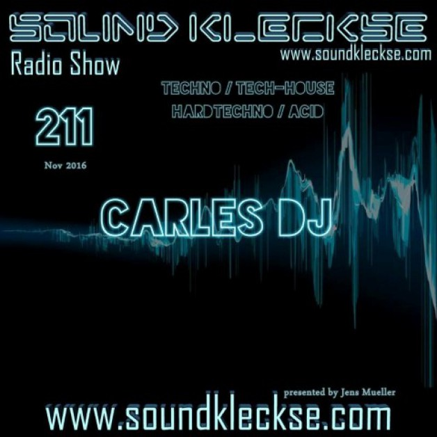 Saturday November 19th 6.00pm CET – Sound Kleckse radio #211  by Jens Mueller