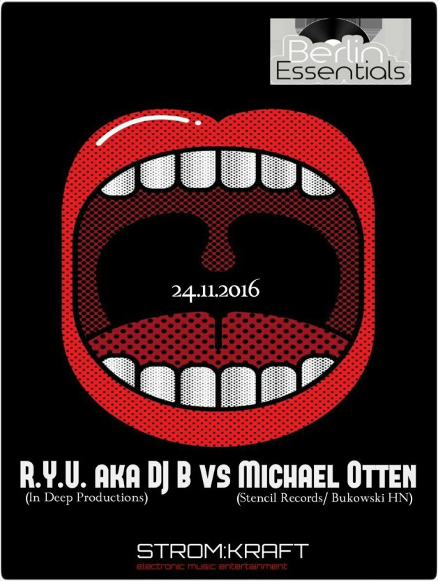 Thursday November 24th 08.00pm CET- Berlin Essentials Radio by Michael Otten ( Stencil Rec.)