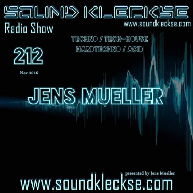 Saturday November 26th 6.00pm CET – Sound Kleckse radio #212  by Jens Mueller