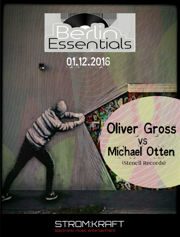 Thursday December 1th 08.00pm CET- Berlin Essentials Radio by Michael Otten ( Stencil Rec.)