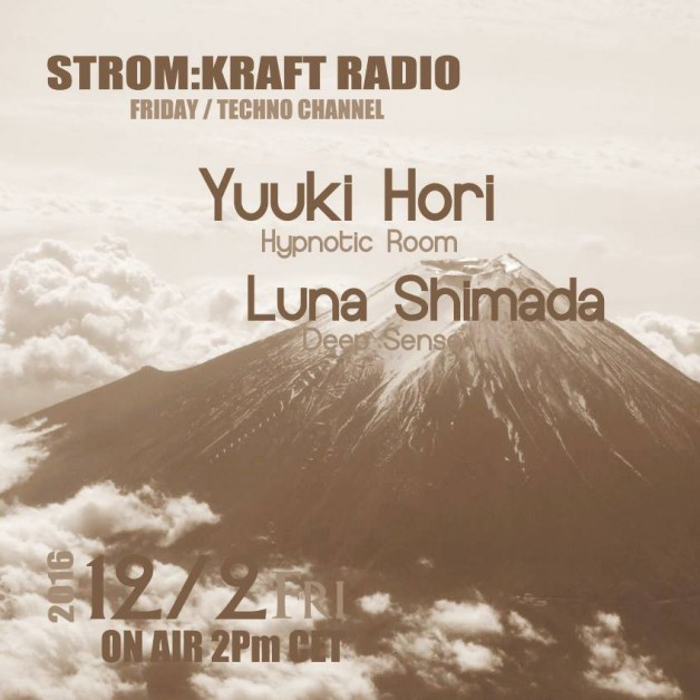 Friday December 2th 02.00pm CET – Fearless Radio #31 by Luna Shimada