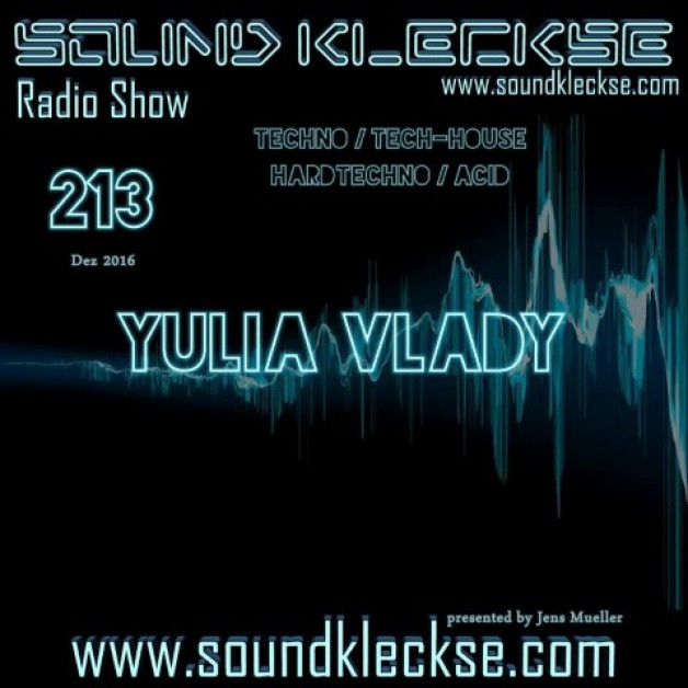 Saturday December 3th 6.00pm CET – Sound Kleckse radio #213  by Jens Mueller