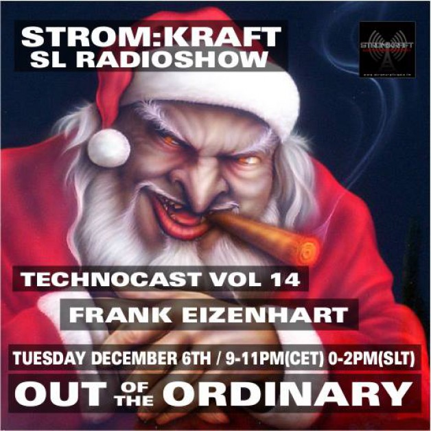 Tuesday December 6th 9.00pm CET [0.00pm SLT] – Second Life's OUT OF THE ORDINARY RADIO #14 – Frank Eizenhart (USA)
