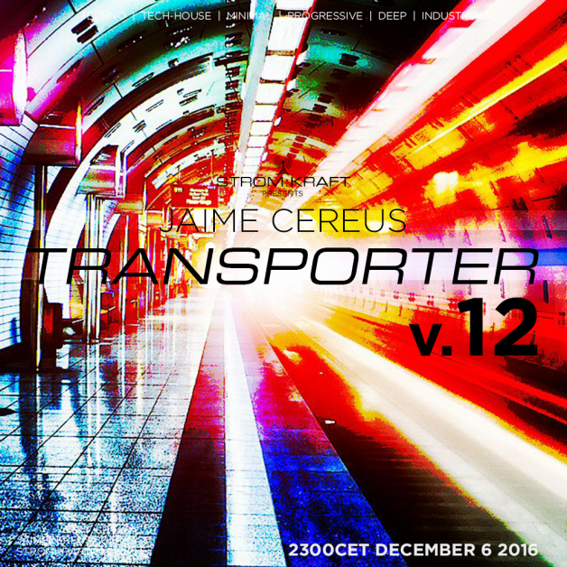 Tuesday December 6th 11.00pm CET [2.00pm SLT] – Second Life's TRANSPORTER RADIO #12 – Jaime Cereus (USA)