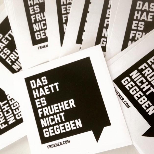 Tuesday February 7th 09.00pm CET – Das Haett Es Frueher Nicht Gegeben Podcast