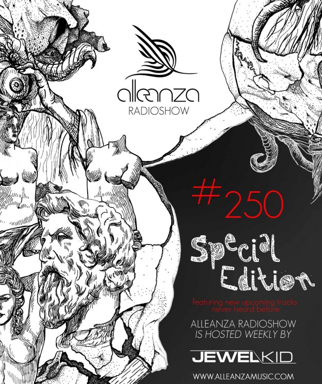 Tuesday January 3th 07.00pm CET- ALLEANZA RADIO SHOW  by Jewel Kid