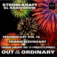 Tuesday January 3th 9.00pm CET [0.00pm SLT] – Second Life's OUT OF THE ORDINARY RADIO #16 – Frank Eizenhart (USA)