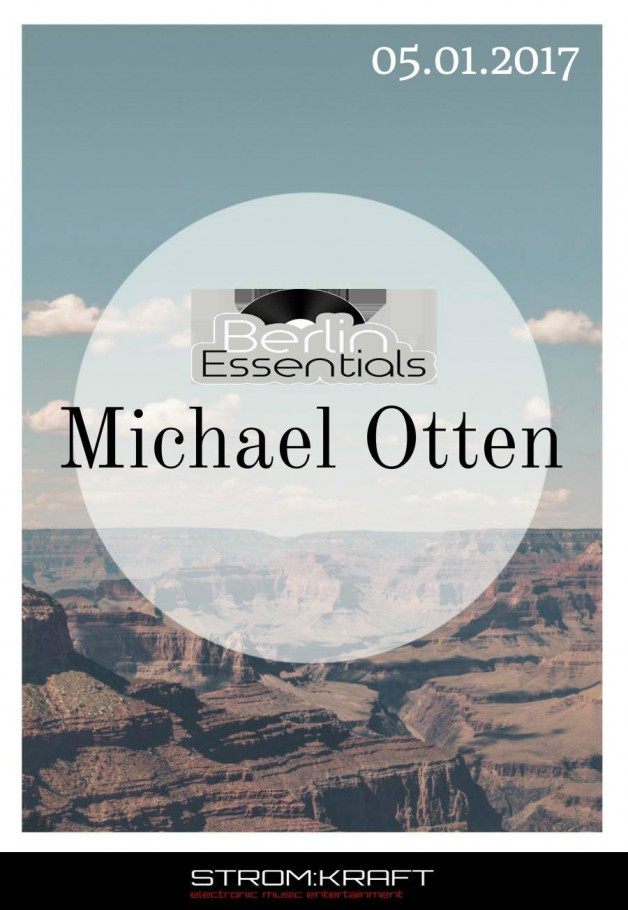 Thursday January 5th 08.00pm CET- Berlin Essentials Radio by Michael Otten ( Stencil Rec.)