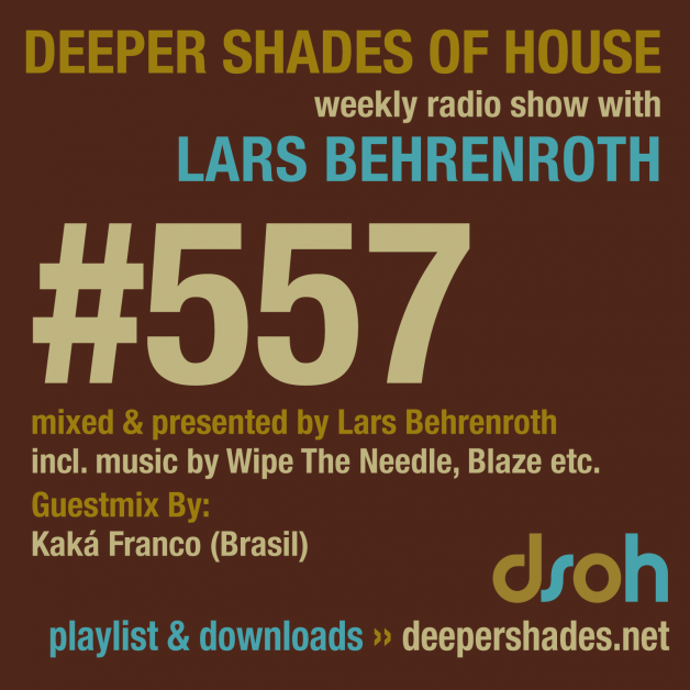 Monday January 16th 06.00pm CET- Deeper Shades of House radio by Lars Behrenroth