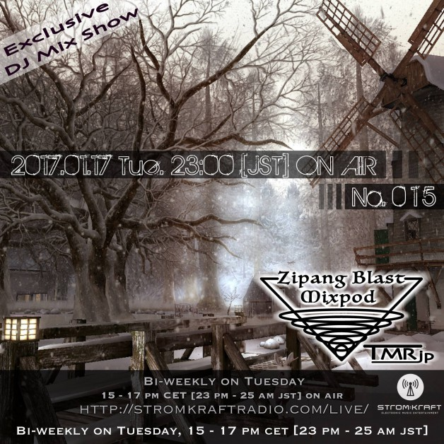 Tuesday January 17th 03.00pm CET [6.00am SLT]  – Second Life's Zipang Blast Podcast #15 by TMR (Japan)