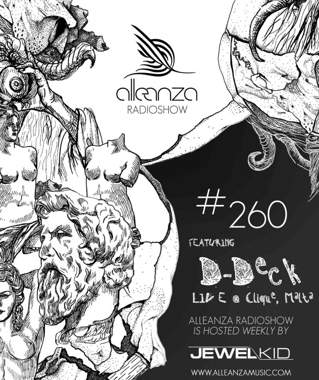 Tuesday January 17th 07.00pm CET- ALLEANZA RADIO SHOW #260 by Jewel Kid