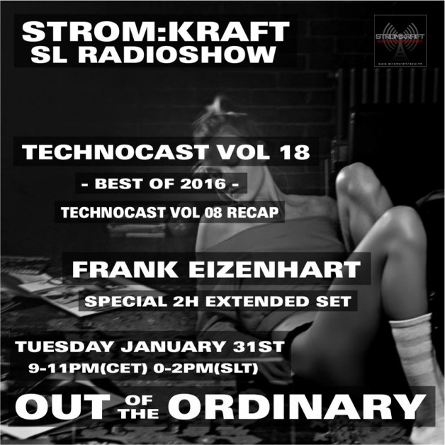 Tuesday January 31h 9.00pm CET [0.00pm SLT] – Second Life's OUT OF THE ORDINARY RADIO #18 – Frank Eizenhart (USA)