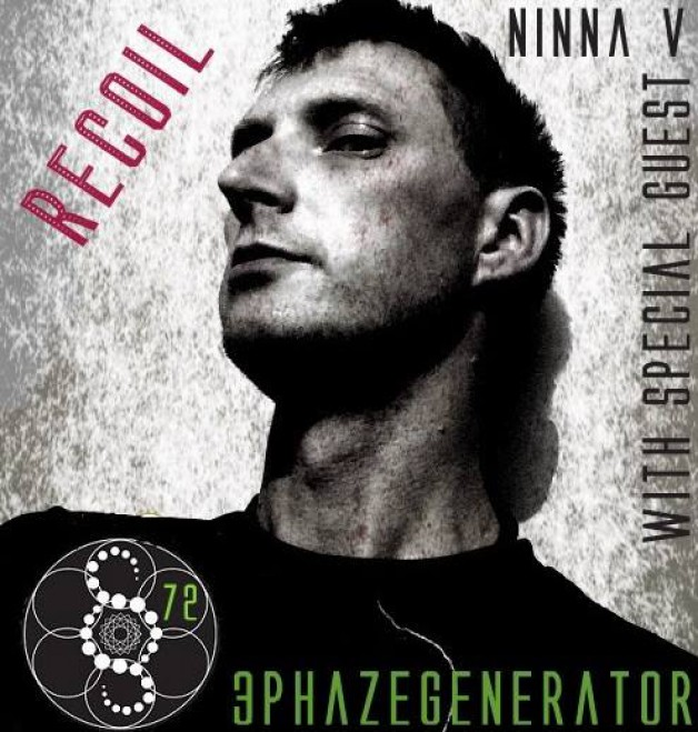 Thursday February 7th 06.00pm CET – Recoil Radio #72 by 3Phazegenerator