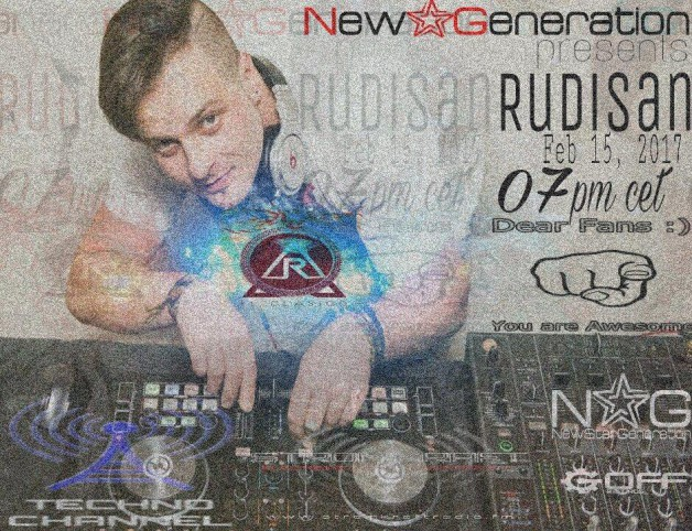 Wednesday February 15th 7.00pm CET- New Star Generation radio
