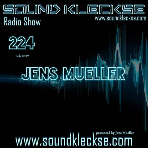 Saturday February 18th 6.00pm CET – Sound Kleckse radio  by Jens Mueller