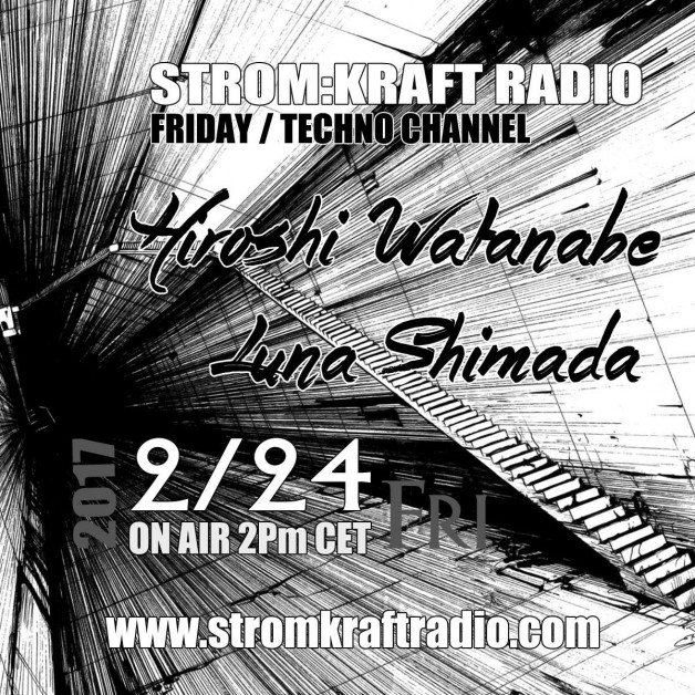 Friday February 24th 02.00pm CET – Fearless Radio #37 by Luna Shimada