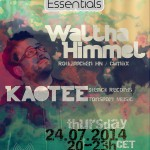 Thursday 24th Jul. 8.00pm (CET) – BERLIN ESSENTIALS exclusive Radio Show presents WALTHA HIMMEL and KAOTEE