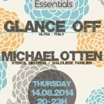 Thursday 21st Aug. 8.00pm (CET) – BERLIN ESSENTIALS exclusive Radio Show presents GLANCE OFF and MICHAEL OTTEN