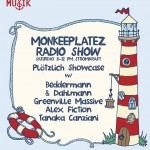 Saturday 2nd Aug. 8.00pm (CET) – ALEX FICTION presents MONKEEPLATEZ exclusive Radio Show with BEDDERMANN & DAHLMANN – GRENNVILLE MASSIVE – ALEX FICTION and TANAKA CANZIANI