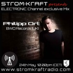 SUNDAY 24th May. 10.00pm (CET) – STROM:KRAFT presents PHILIPP ORT (BWO Records/UK)  – ELECTRONIC Channel