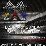 Sunday 24th Aug. 4.00pm (CET) – STROM:KRAFT presents WHITE FLAG exclusive Radio Show by SASCHA LUXX (Germany)