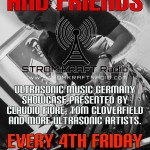 Friday 25th Apr. 8.00pm (CET) – STROM:KRAFT presents ULTRASONIC MUSIC LABEL SHOWCASE exclusive Radio Show by CLOVERFIELD and Friends (Germany)
