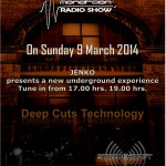 Sunday 9th Mar. 5.00pm (CET) – DTST & DANN AT BRIDGES presents MONOTOON Radio Show with guest JENKO