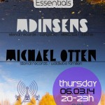 Thursday 13th Mar. 8.00pm (CET) – BERLIN ESSENTIALS exclusive Radio Show presents MDinsens and Michael Otten