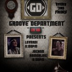 Friday 21st Jun. 8.00pm – GROOVE DEPARTMENT – exclusive Radio Show