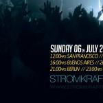 2nd Wednesday 8.00pm (CET) – STROM:KRAFT presents REVOLUCION RADIO SHOW by MARK ELLISON (UK)