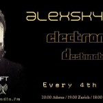 Tuesday 22nd Jul. 7.00pm (CET) – STROM:KRAFT pres. Alexskyspirit (Greece) Electronique Destination exclusive Radio Show