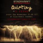 Wednesday 19th Jun. 9.00pm – STROM:KRAFT pres Quieting by D-FEENS – exclusive Radio Show